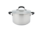 Raco Contemporary Stockpot 24cm 5.7 Litre Stainless Steel-casseroles-and-stockpots-What's Cooking