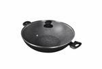 Pyrolux Pyrostone Wok with Lid, 36cm-pyrolux-What's Cooking
