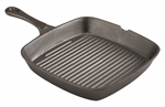 Pyrolux Pyrocast Square Grill Pan 25x24cm-cast-iron--What's Cooking