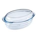 O'Cuisine Oval Casserole 4 Litre 33 x 20cm with Lid-oven-to-table--What's Cooking
