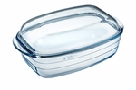 O'Cuisine Rectangular Casserole 6.5 Litre 37 x 22cm with Lid -oven-to-table--What's Cooking
