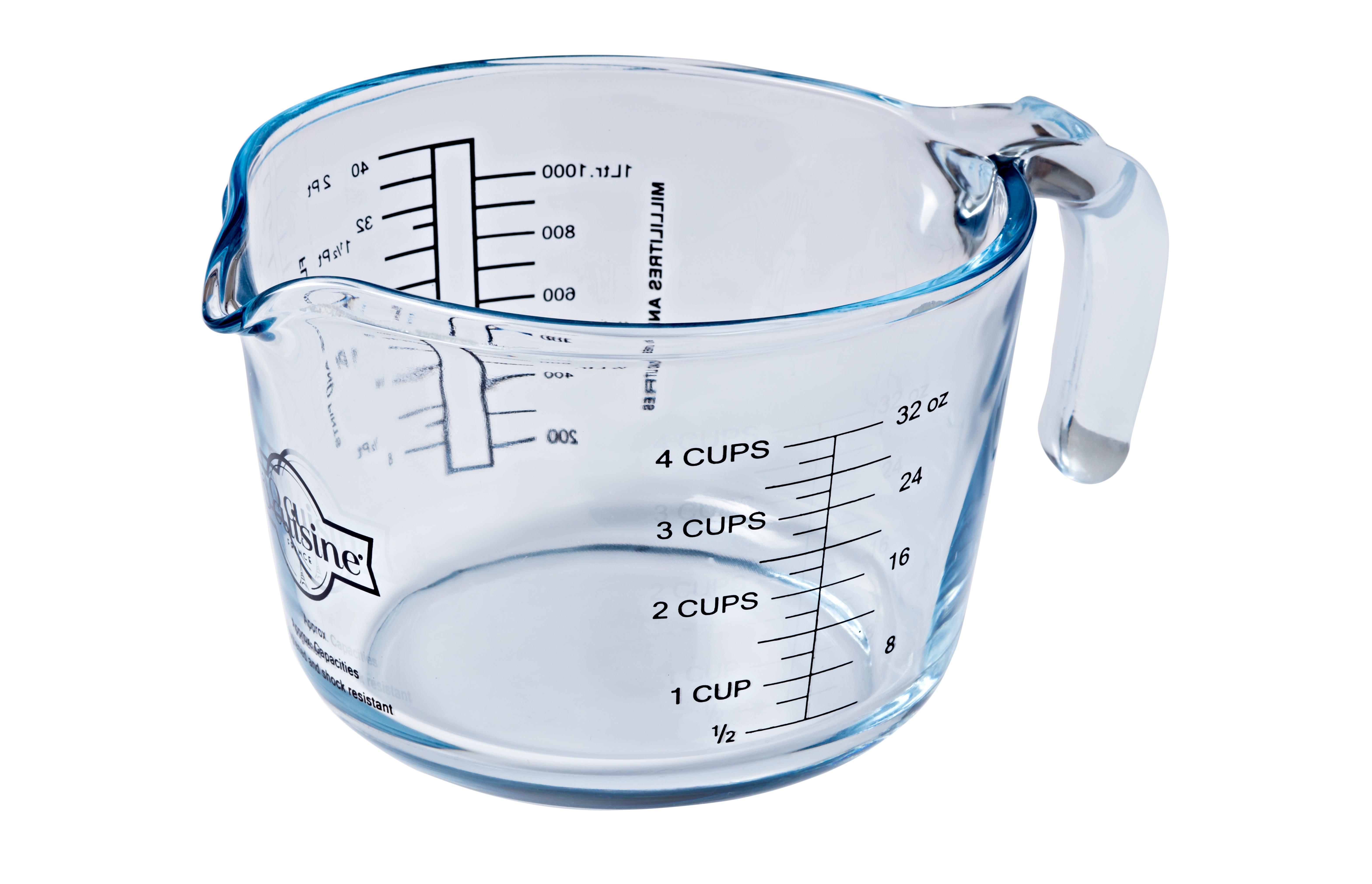 Litre Glass Measuring Jug