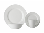 Maxwell & Williams White Basics Cosmopolitan Rim Dinner Set 16pce Gift Boxed-dinner-sets-What's Cooking Online Store