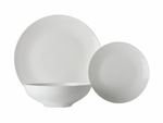 Maxwell & Williams White Basics Tribeca Coupe Dinner Set 18pc Gift Boxed-dinner-sets-What's Cooking Online Store