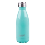 Oasis Insulated Drink Bottle Stainless Steel 350ml Spearmint-water-and-sports-bottles-What's Cooking