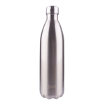 Oasis Insulated Drink Bottle Stainless Steel 1 Ltr Silver-water-and-sports-bottles-What's Cooking