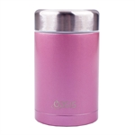 Oasis Insulated Food Flask 450ml Blush-water-and-sports-bottles-What's Cooking