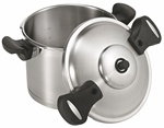 Scanpan Pressure Cooker 22cm - 6 Litre Stainless Steel-specialty-cookware--What's Cooking