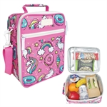 Sachi Insulated Kids Lunch Tote Unicorns-cooler-bags-What's Cooking