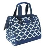 Sachi Insulated Lunch Tote 34 Morocco Navy-cooler-bags-What's Cooking