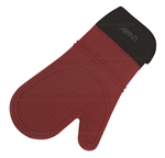 Avanti Silicone Oven Glove Silicon and Cotton Red-oven-mits-What's Cooking
