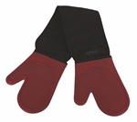 Avanti Silicone Double Oven Mitts Silicon and Cotton Red-oven-mits-What's Cooking