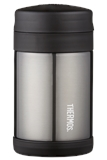 Thermos FUNTAINER Insulated Food Jar with spoon Charcoal 470ml-thermos-What's Cooking