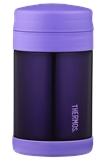 Thermos FUNTAINER Insulated Food Jar with spoon Purple 470ml-thermos-What's Cooking