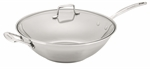 Scanpan Impact Wok With Lid 32cm-woks-What's Cooking Online Store