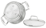 Scanpan Impact Multi Steamer Insert With Lid  16cm, 18cm, 20cm-saucepans-What's Cooking Online Store