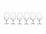Krosno Harmony Beer Glass 400ML 6pc Gift Boxed-maxwell-and-williams--What's Cooking