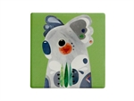 Maxwell & Williams Pete Cromer Ceramic Square Tile Coaster 9.5cm Koala-maxwell-and-williams-What's Cooking Online Store