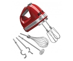 KitchenAid Hand Mixer 9 Speed Empire Red-blenders-processors-and-choppers-What's Cooking