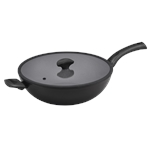 MEY ESST SALUTE STIRFRY 32CM-woks-What's Cooking