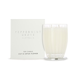 Peppermint Grove Candle Large 350g Lotus & Lily Flower-candles-and-room-fragrance-What's Cooking Online Store