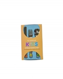 Tablekraft Kids Cutlery ABC  Design Set of 3 -boxed-sets-What's Cooking