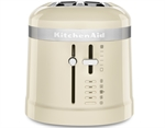 KitchenAid Design Dual Slot Toaster Almond Cream-toasters-and-kettles-What's Cooking