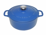 Le Chasseur Fround French Oven 28cm 6.1 Litres Sky Blue-casseroles-What's Cooking