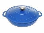 Le Chasseur Casserole 30cm 2.5 Litres Sky Blue-casseroles-What's Cooking