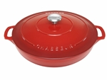 Le Chasseur Casserole 30cm 2.5 Litres Inferno Red-casseroles-What's Cooking