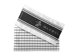 Maxwell & Williams Epicurious Tea Towel 50x70cm Set Of 2 Charcoal-tea-towels-What's Cooking