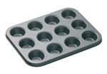 Bakemaster 12 Cup Mini Muffin Pan 26 X 20 cm-cake-tins-and-baking-trays-What's Cooking Online Store