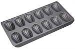 Bakemaster 12 Cup Madeleine Pan 40 X 20 cm-cake-tins-and-baking-trays-What's Cooking