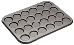 Bakemaster 24 Cup Mini Macaroon 35 X 27 cm-cake-tins-and-baking-trays-What's Cooking