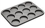Bakemaster 12 Cup Macaroon Pan 35 X 27 cm-cake-tins-and-baking-trays-What's Cooking