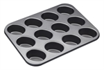 Bakemaster 12 Cup Friand Pan 26 X 35 cm-bakemaster-What's Cooking