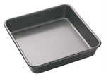 Bakemaster Square Bake Pan 23 X 23 X 4 cm-bakemaster-What's Cooking