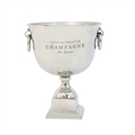 Pure Homewares Claridge Champagne Pedestal Bucket Small-pure-living-What's Cooking