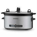 KitchenAid Stainless Steel Slow Cooker 5.7 Litres-speciality-What's Cooking