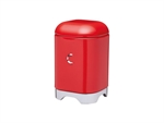 Kitchenkraft Lovello Coffee Canister 11x18cm 1.5L Red-food-storage-What's Cooking Online Store
