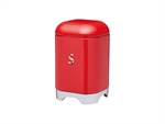 Kitchenkraft Lovello Sugar Canister 11x18cm 1.5L Red-food-storage-What's Cooking Online Store