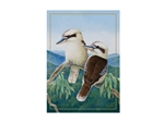 Maxwell & Williams Birds of Australia 10yr Anniversary Tea Towel 50x70cm KooKitchenAidburra-tea-towels-What's Cooking