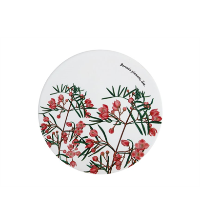 Maxwell & Williams Royal Botanic Garden Ceramic Round Trivet 20cm Boronia