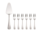 Maxwell & Williams Cosmopolitan Cake Server & Fork 7pc Set Gift Boxed-boxed-sets-What's Cooking