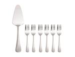 Maxwell & Williams Madison Cake Server & Fork 7pc Set Gift Boxed-boxed-sets-What's Cooking
