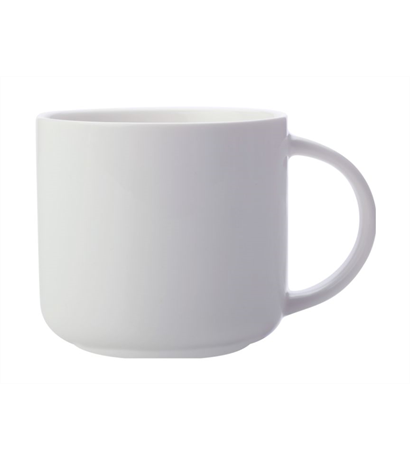 Maxwell & Williams White Basics Mug 440ML White