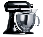KitchenAid Stand Mixer KSM150 Onyx Black with BONUS 3 Piece Pasta Set *-stand-mixers-What's Cooking
