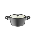 Berndes Balance Smart Ceramic  Casserole 24cm White-casseroles-and-stockpots-What's Cooking Online Store