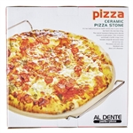 Al Dente Pizza Stone with rack 33cm-pizza-and-pasta-What's Cooking Online Store
