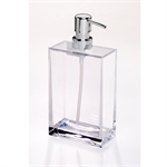 Creative Home Clear Cube Lotion Dispenser Large-bathroom-What's Cooking Online Store